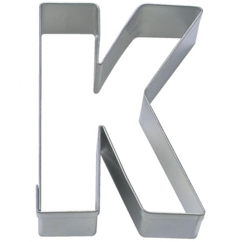 Image of   Bogstav udstikker K, 6,5 cm