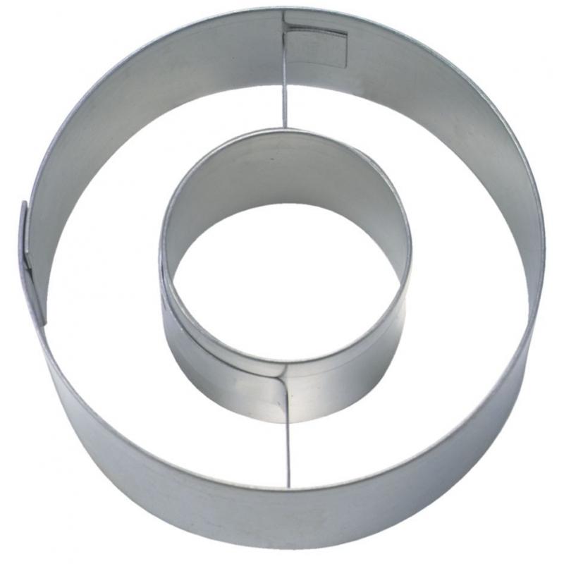 Image of   Bogstav udstikker O, 6,5 cm