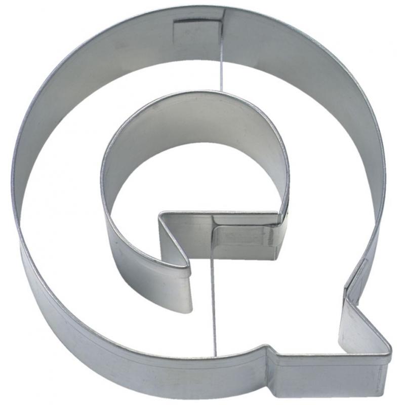 Image of   Bogstav udstikker Q, 6,5 cm