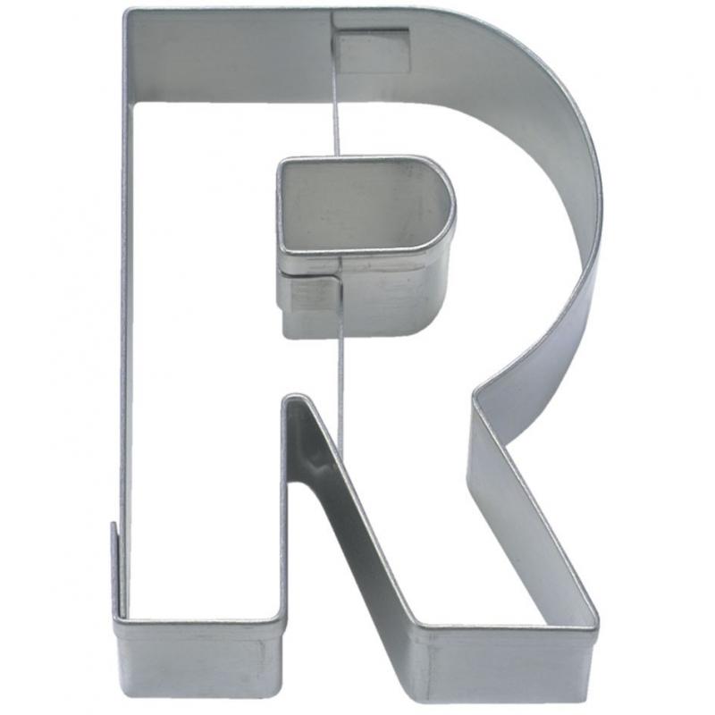 Bogstav udstikker R, 6,5 cm
