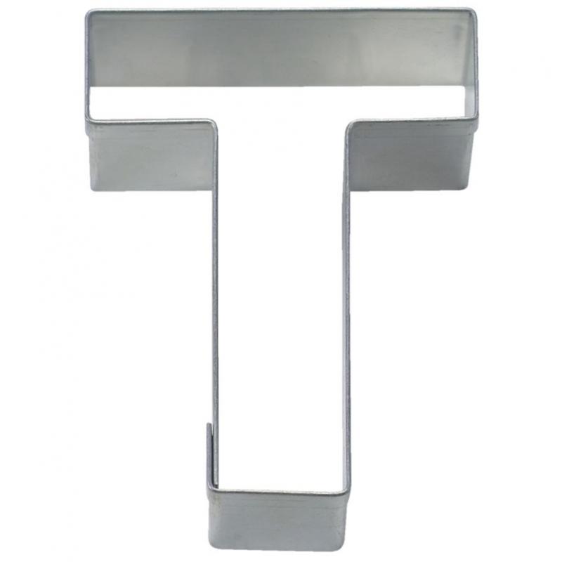Image of   Bogstav udstikker T, 6,5 cm