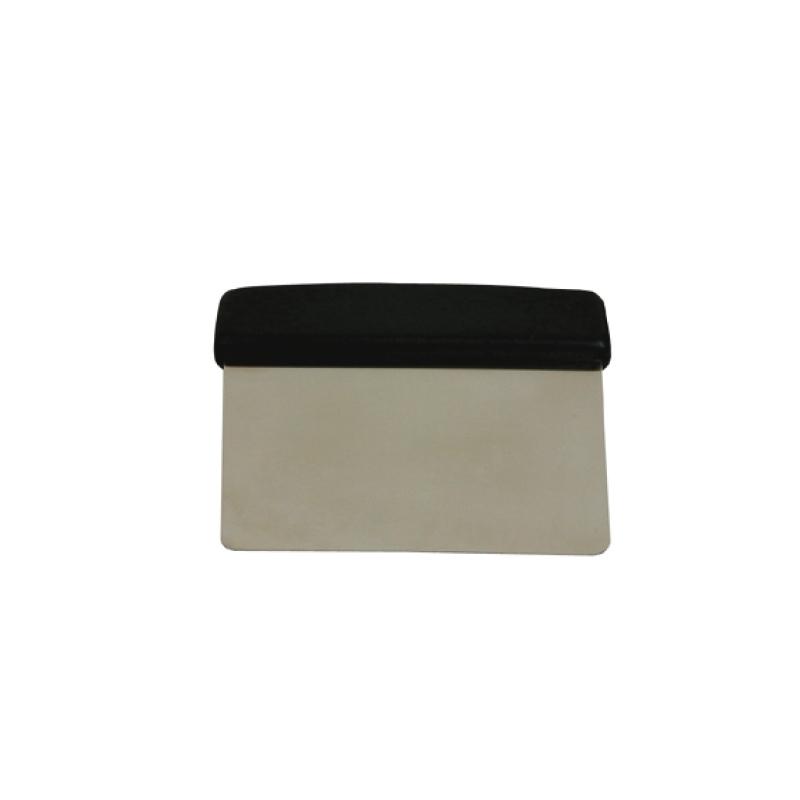 Bordskraber - stål m/plastgreb, 12x12 cm