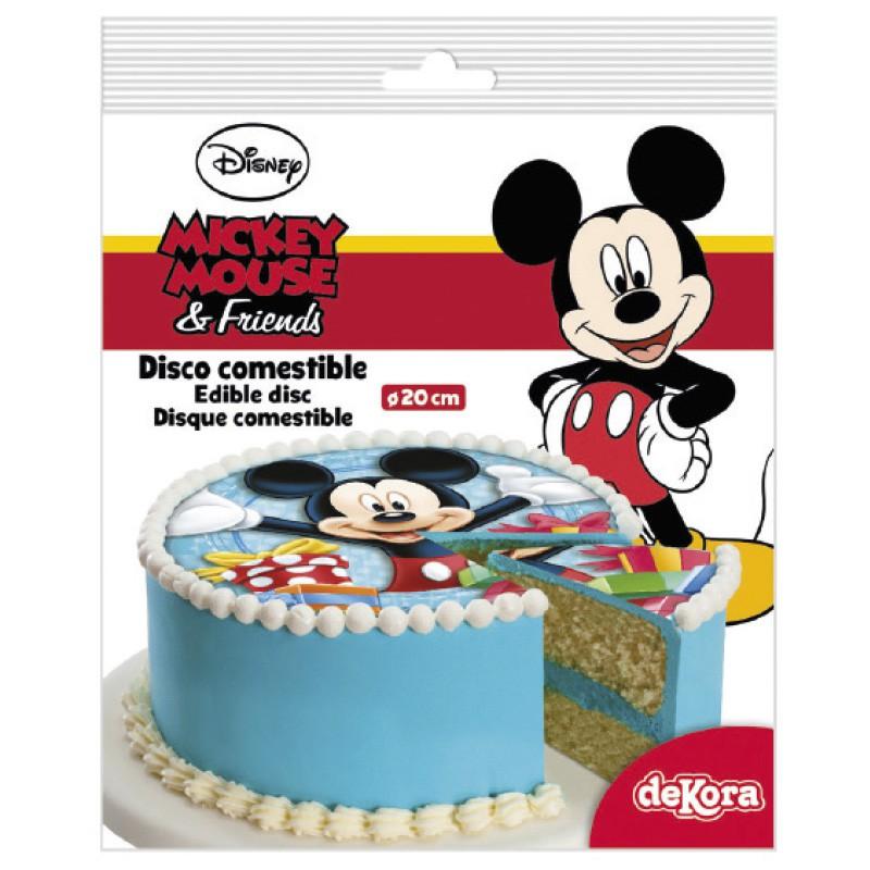 Sukkerprint Mickey Mouse – ø 20 cm.