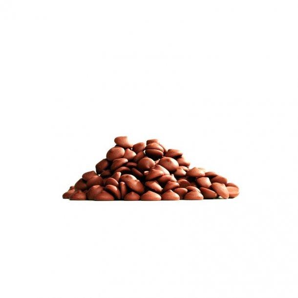 Callebaut lys chokolade 33,6 % kakao, 1 kg.
