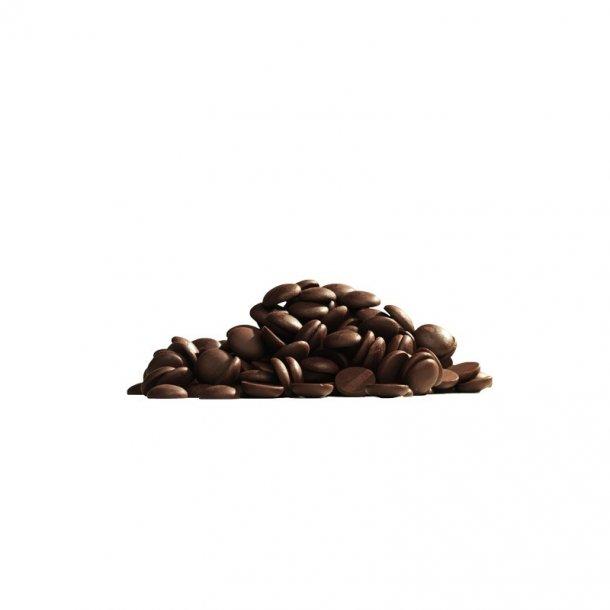 Callebaut mørk chokolade 54,5 % kakao, 1 kg.