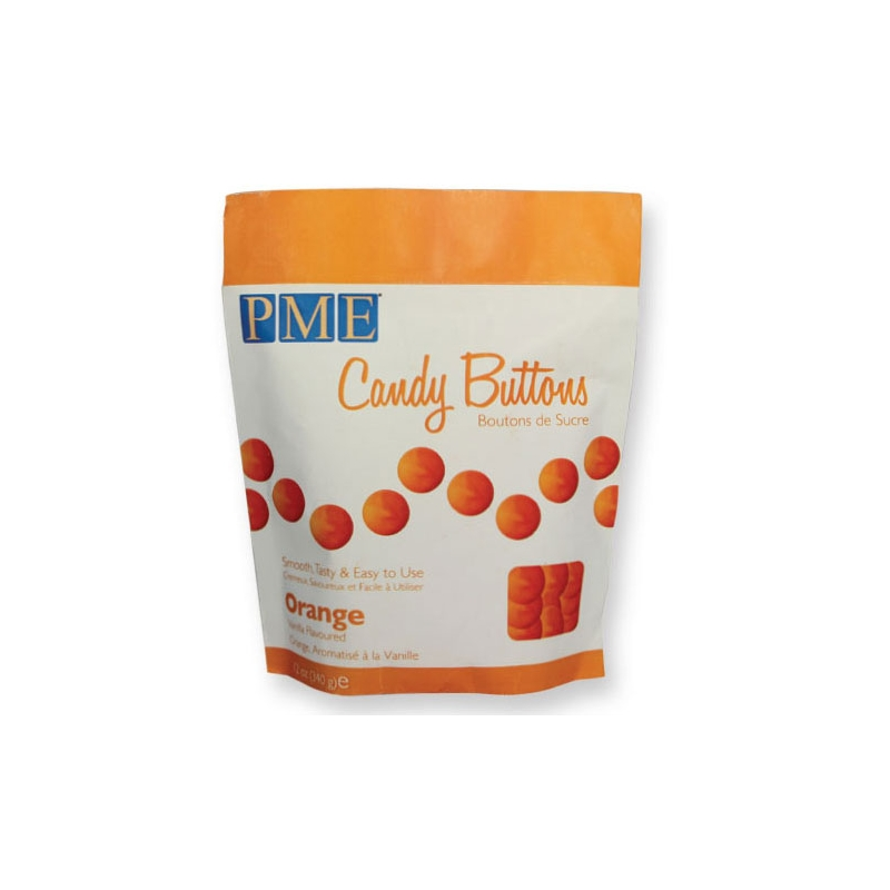 Image of   Candy Buttons orange - 340 gram