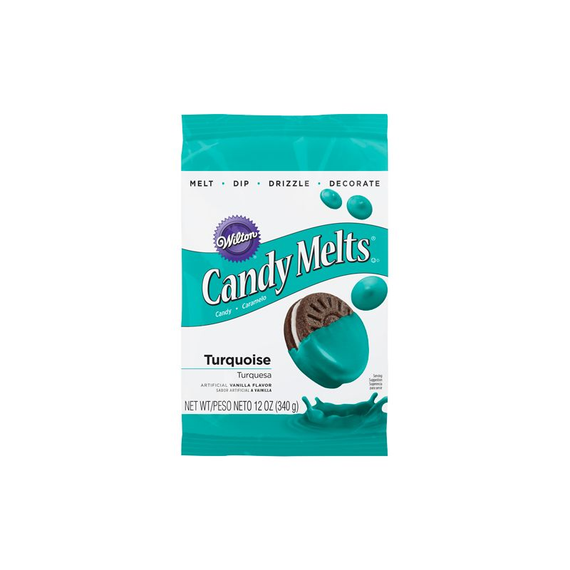 Image of   Candy Melts turkis - 340 gram