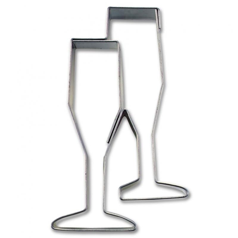 Image of   Champagneglas udstikker