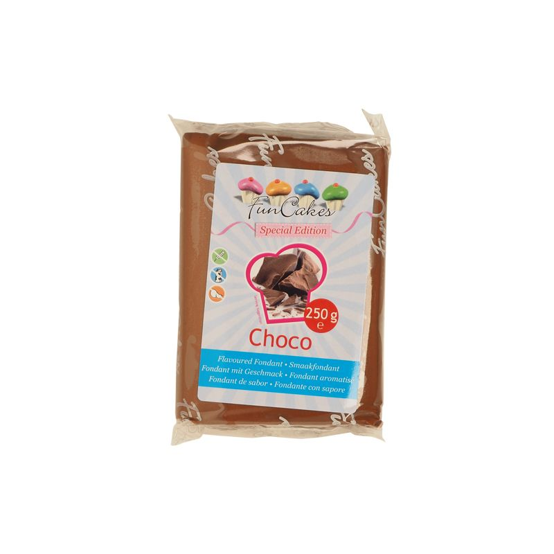Image of   Chokolade fondant brun - 250 g
