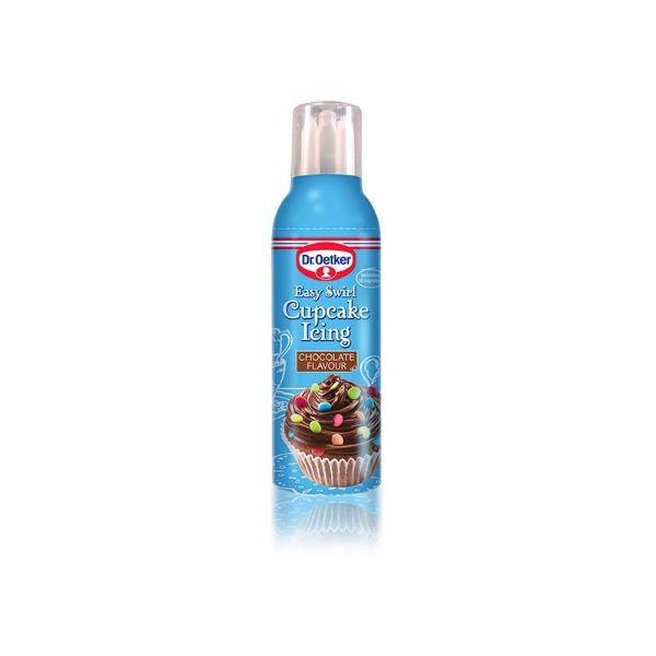 Image of   Chokolade frosting inkl. 4 tyller - klar-til-brug, 180 gram