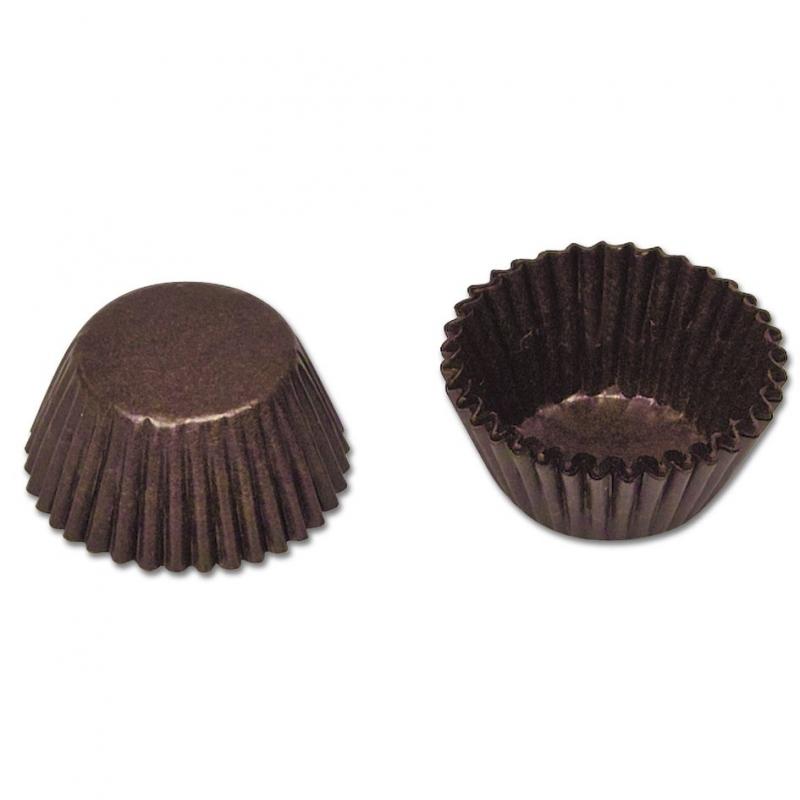 Image of   Chokolade kapsler papir (100 stk.)