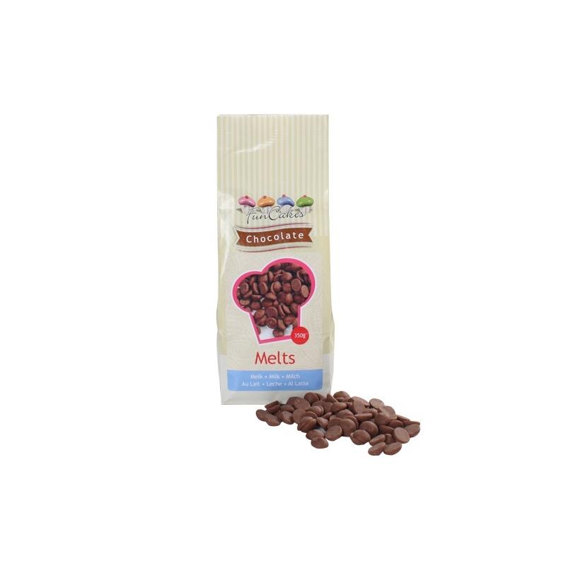 Image of   Chokolade smelte/overtræk lys - 350 g