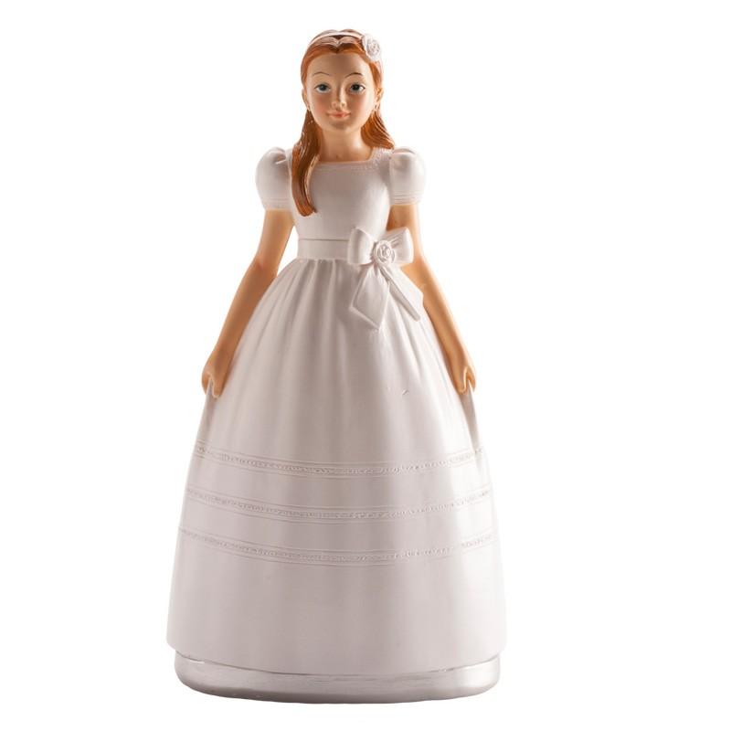 Image of   Konfirmationspige figur 15 cm