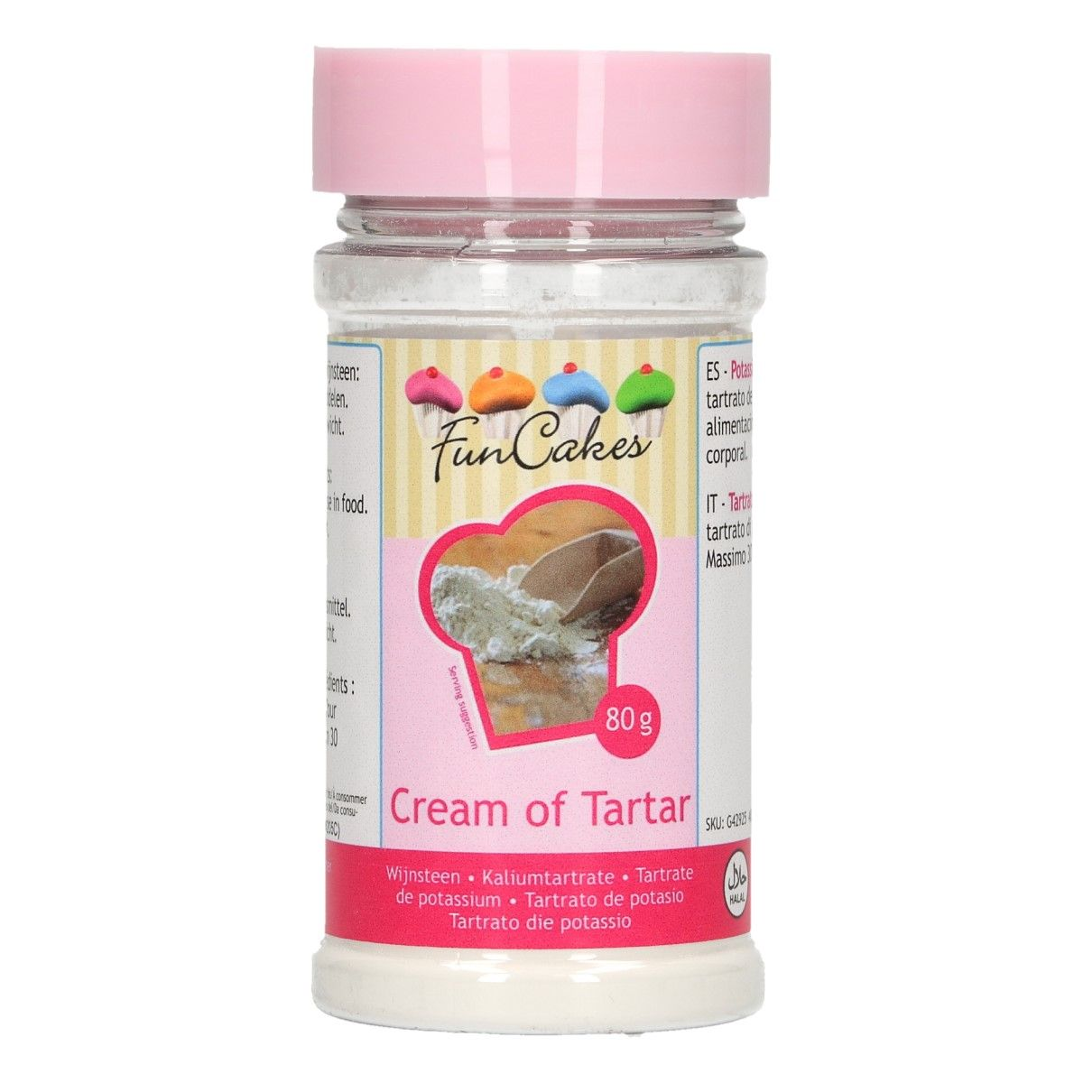 Image of   Cream of Tartar - 80 gram