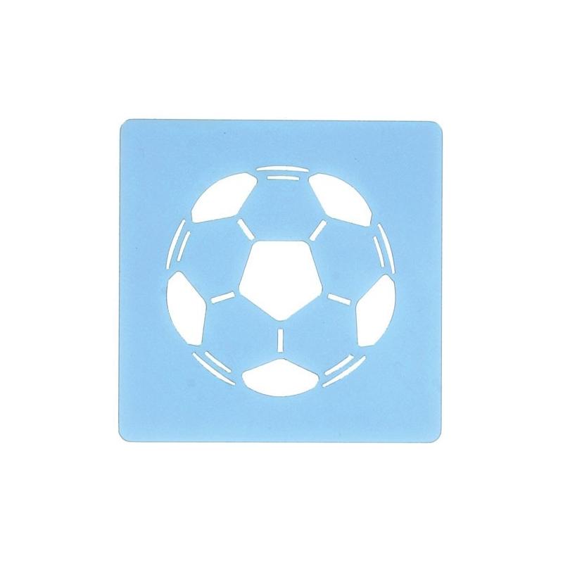 Fodbold stencil - 51 mm