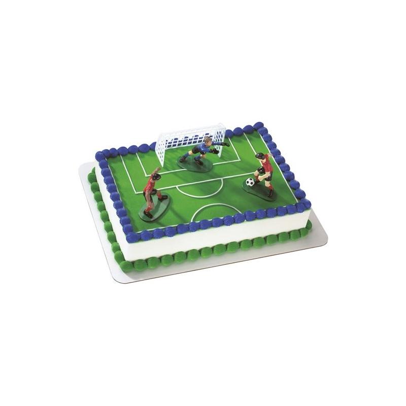 Image of   Dekorationssæt fodbold (4 dele)