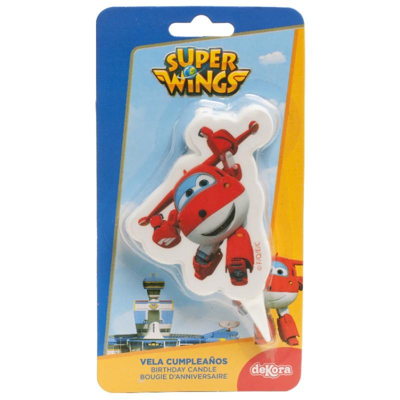 Image of   Kagelys Super wings Jett 7,5 cm