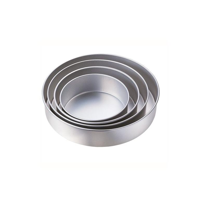 Wilton Runde Kuchenform 20,3 cm Aluminium