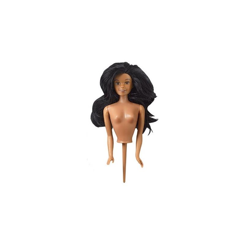 Image of   Ekstra dukke til prinsesse bageform, mørk