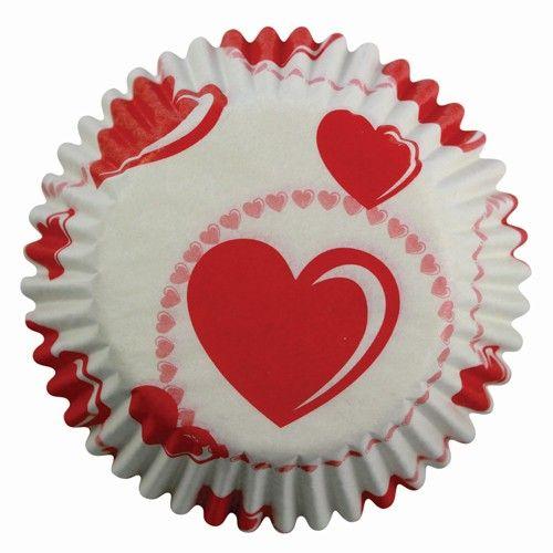 PME muffinsforme med hjerter.