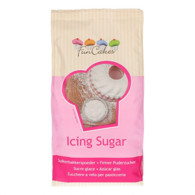 Image of   Funcakes Icing sukker - 900 gr