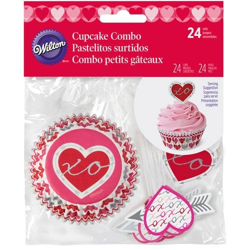 Wilton cupcake combo 24 stk