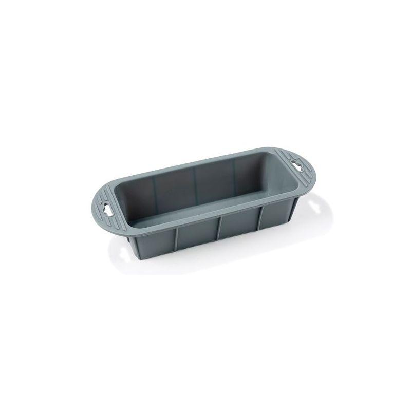 Image of   Brødform 24 cm - grå silikone