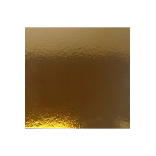 Image of Kagepap kvadratisk 25 cm - sølv/guld, 1 mm tyk (3 stk.)
