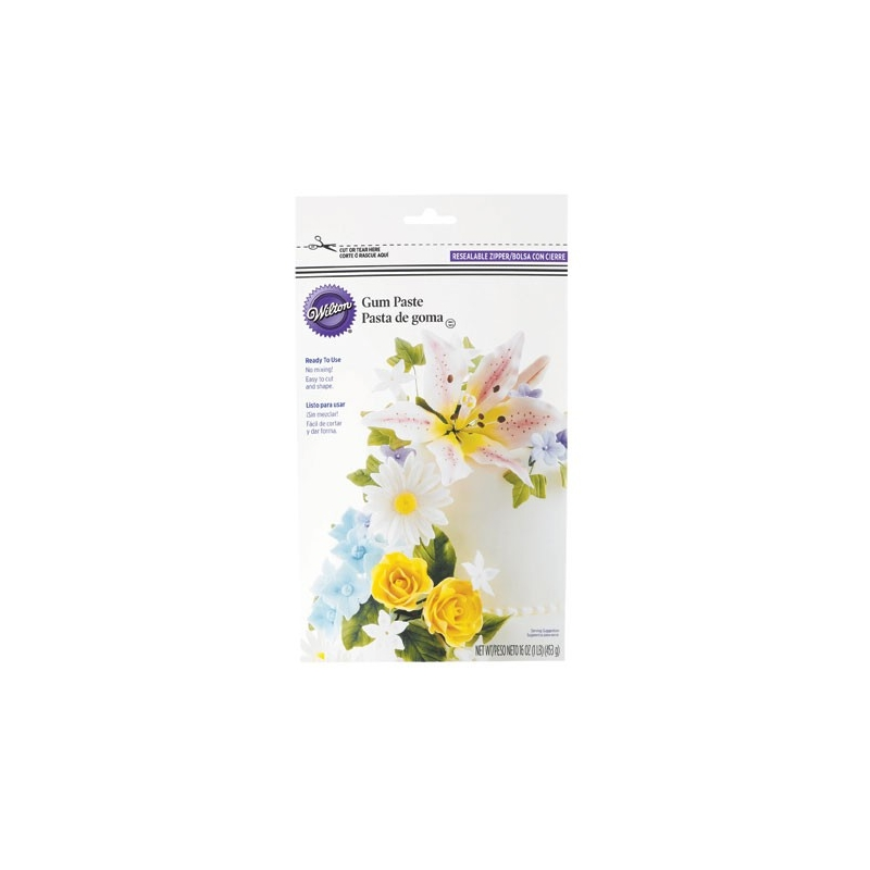 Image of   Gumpaste (flowerpaste) - klar-til-brug, 453 g