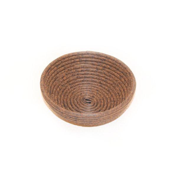 Billede af Hævekurv Ø19 cm brun-poly