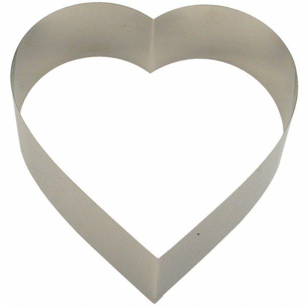 Hjerte kagering - 7 cm høj