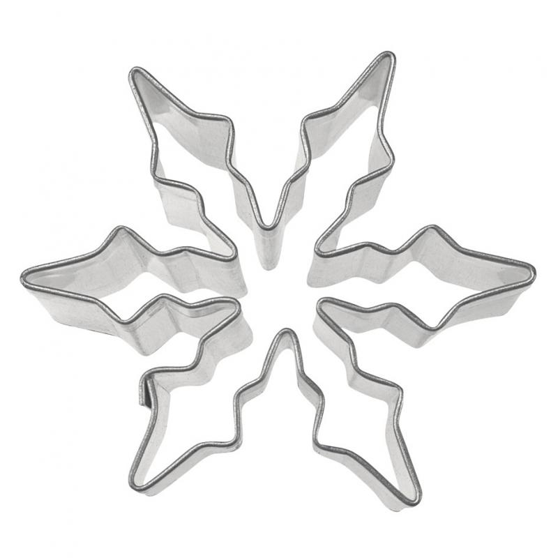 Iskrystal udstikker - 6 cm