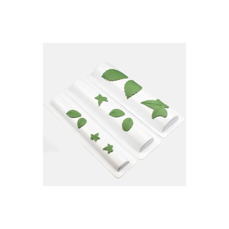 Modelleringssæt til blade og blomster (3 dele)