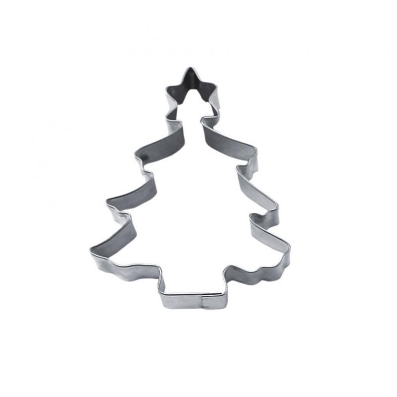 Juletræ med stjerne udstikker