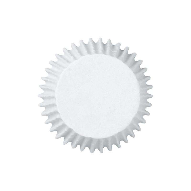 Jumbo muffinsforme hvide (75 stk.)