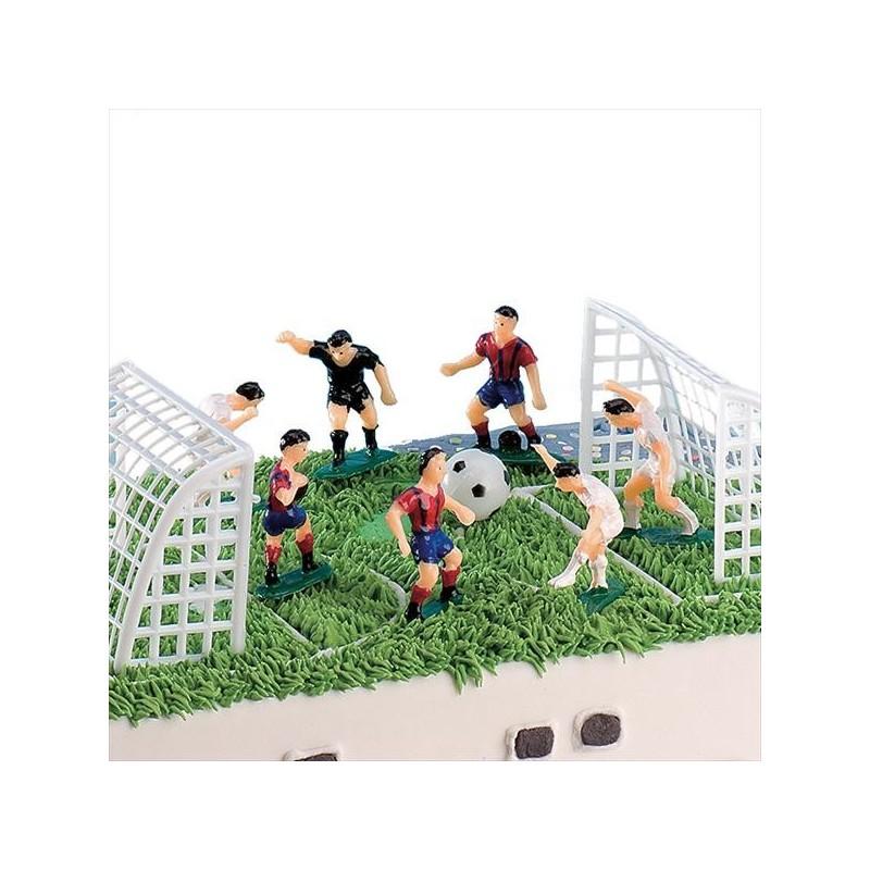 Image of   Dekorationssæt fodbold (10 dele)