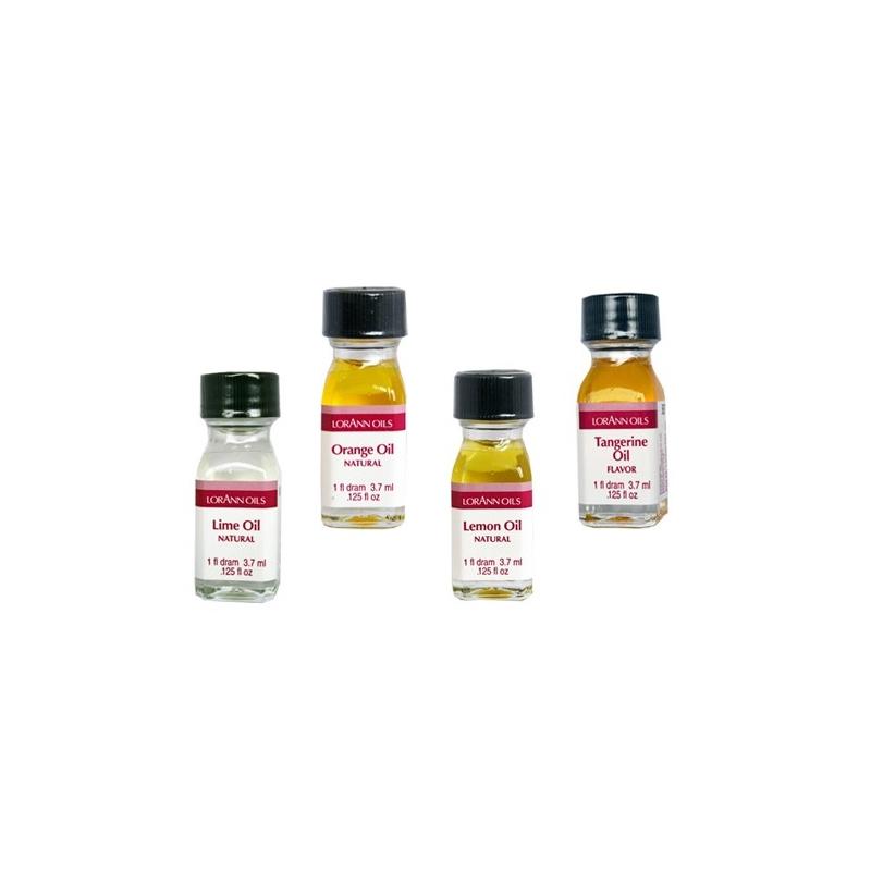 Image of   Citrusfrugter aroma - superkoncentreret (4 stk.)