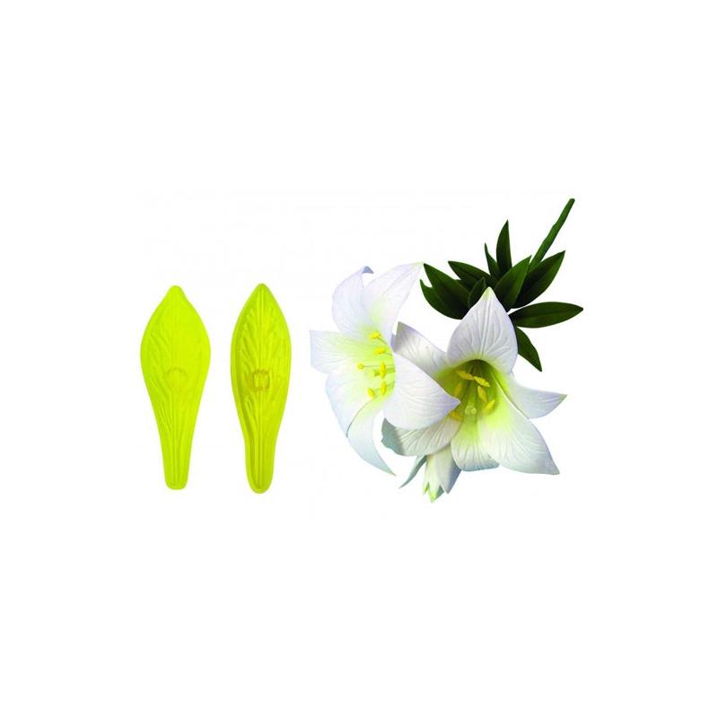 Lilje udstikkersæt (2 dele)