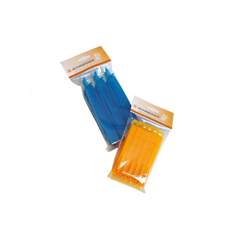 Image of   Lukkeclips til sprøjtepose, 160 mm (6 stk.)