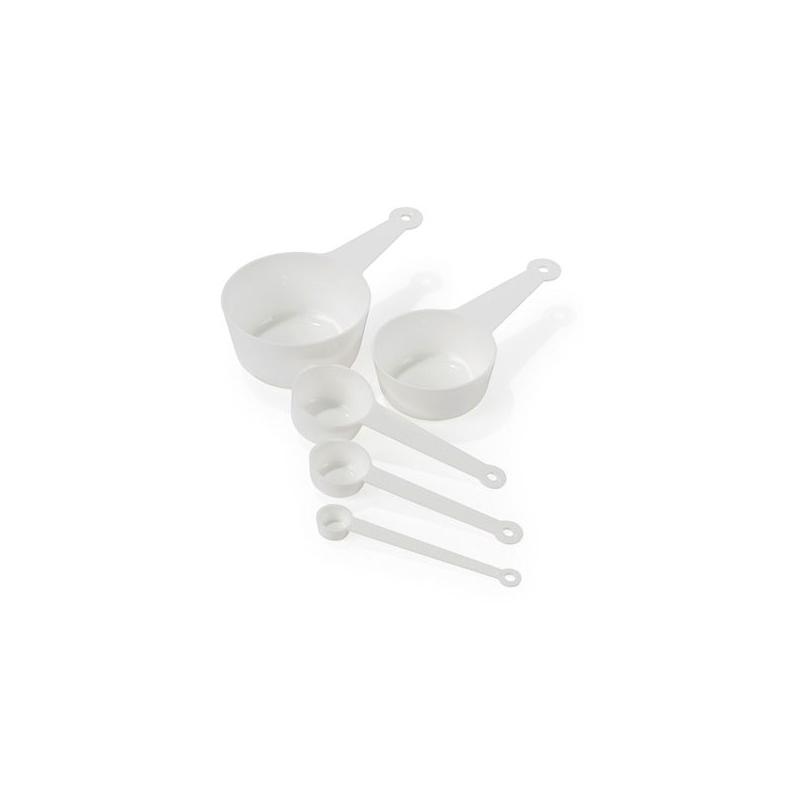 Måleskeer i plast (5 stk.)