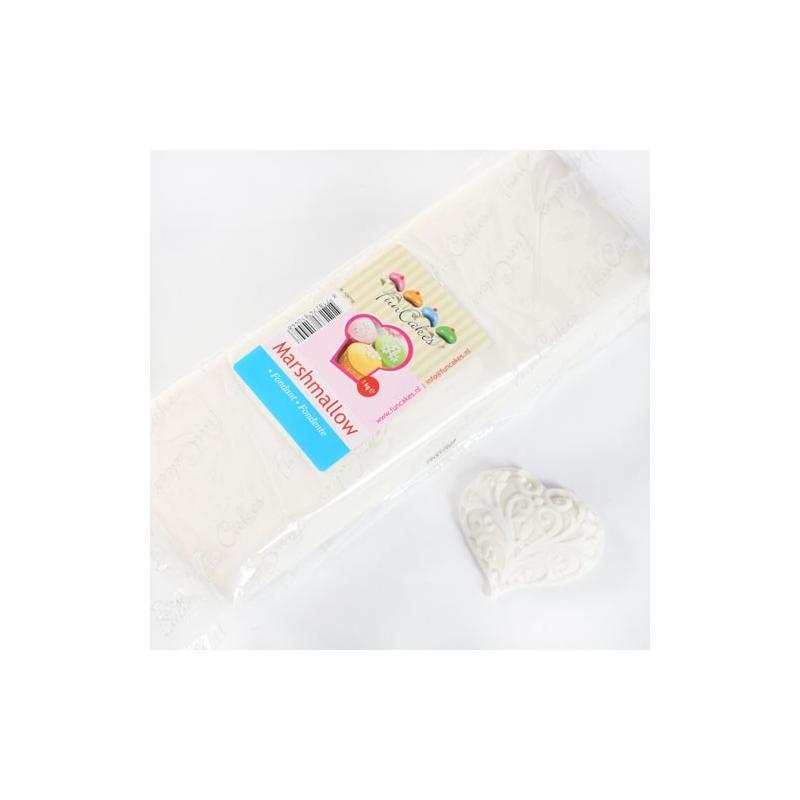 Image of   Fondant hvid marshmallow - 1 kg