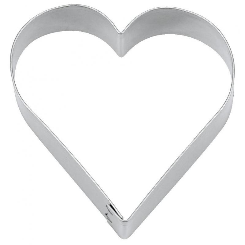 Hjerte udstikker - 2,5 cm