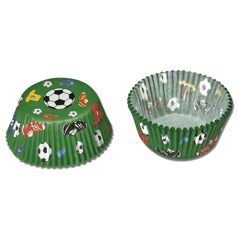 Image of   Muffinsforme fodbold (50 stk.)