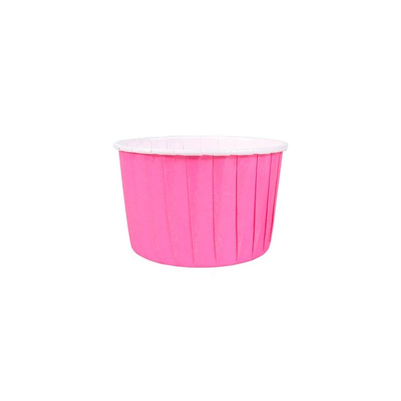Papirforme mørk pink (24 stk.)