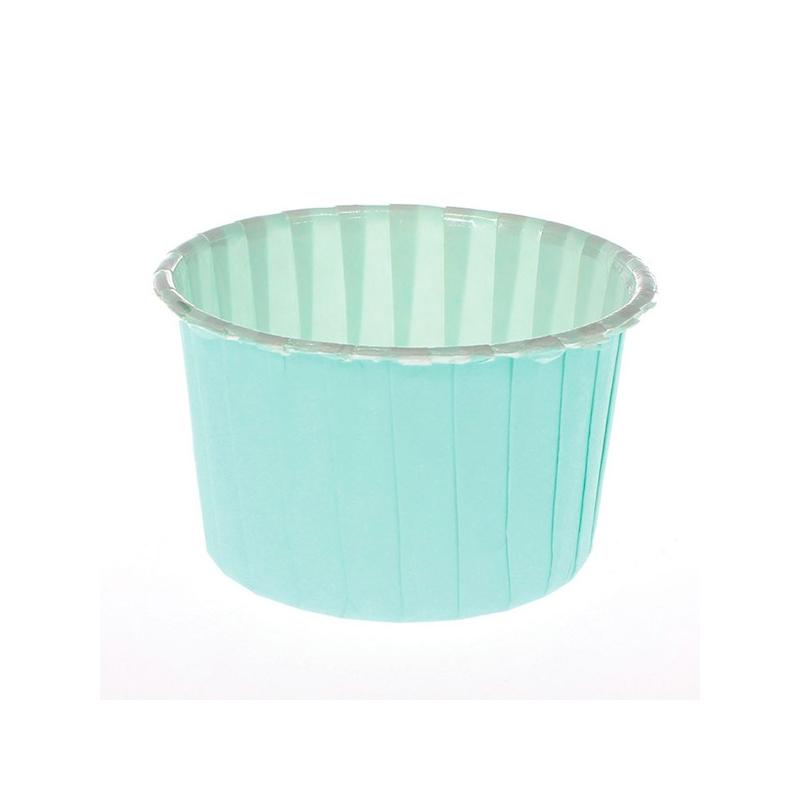 Papirforme pastelgrønne (24 stk.)