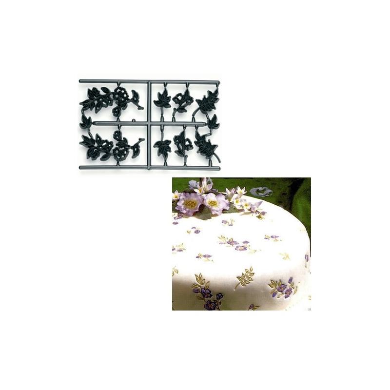 Image of   Blomster- og bladeudstikkere (9 dele) - Patchwork Cutters