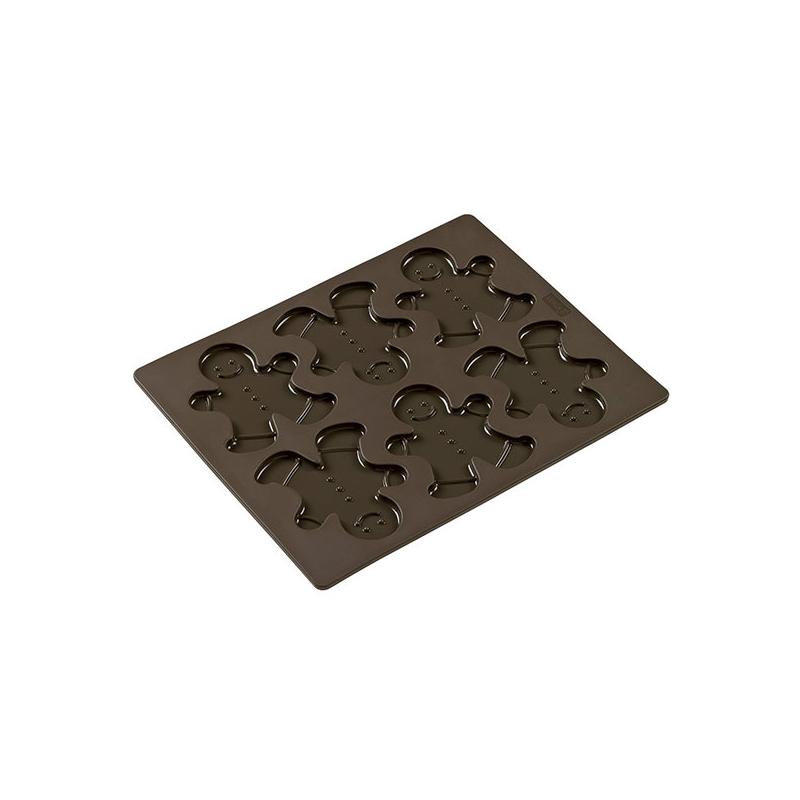 Peberkagemandsform silikone (6 stk.)