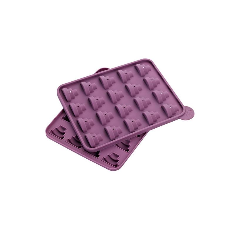 Image of   Popcakes form silikone etagekager - inkl. 20 pinde