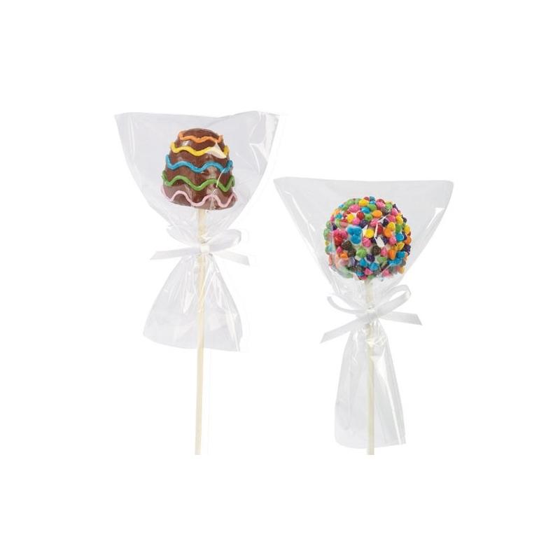 Image of   Popcakes poser med bånd (12 stk.)
