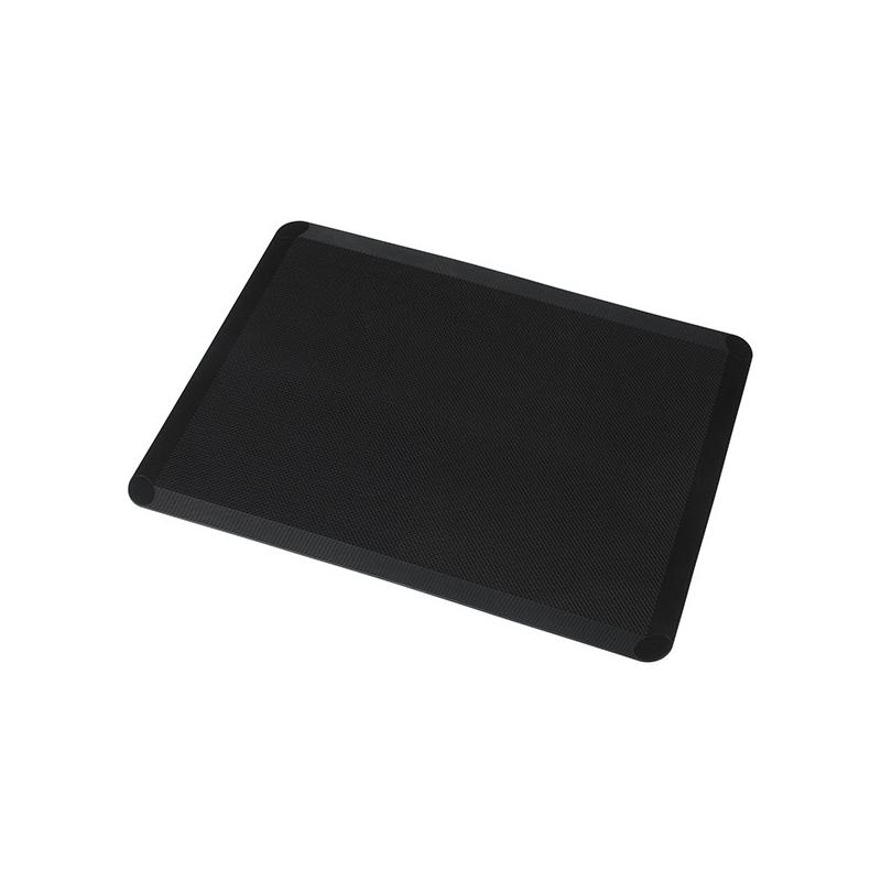 Silikone bagemåtte - sort, 30x40 cm
